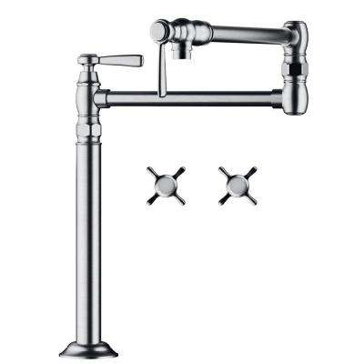 Axor Montreux Deck Mounted 2-Handle Potfiller in Polished Nickel