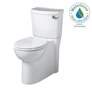 American Standard Cadet 3 FloWise Tall Height 2-piece 1.28 GPF Round Toilet with Right Hand Trip Lever Concealed Trapway... by American Standard