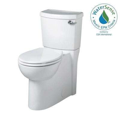 Cadet 3 FloWise 2-piece 1.28 GPF Round Toilet with Right Hand Trip Lever Concealed Trapway in White