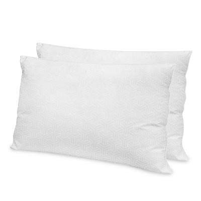Hotel Quality Gel Fiber Standard Pillow (2-Pack)