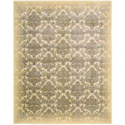 Chambord Ivory 7 ft. 9 in. x 10 ft. 10 in. Area Rug