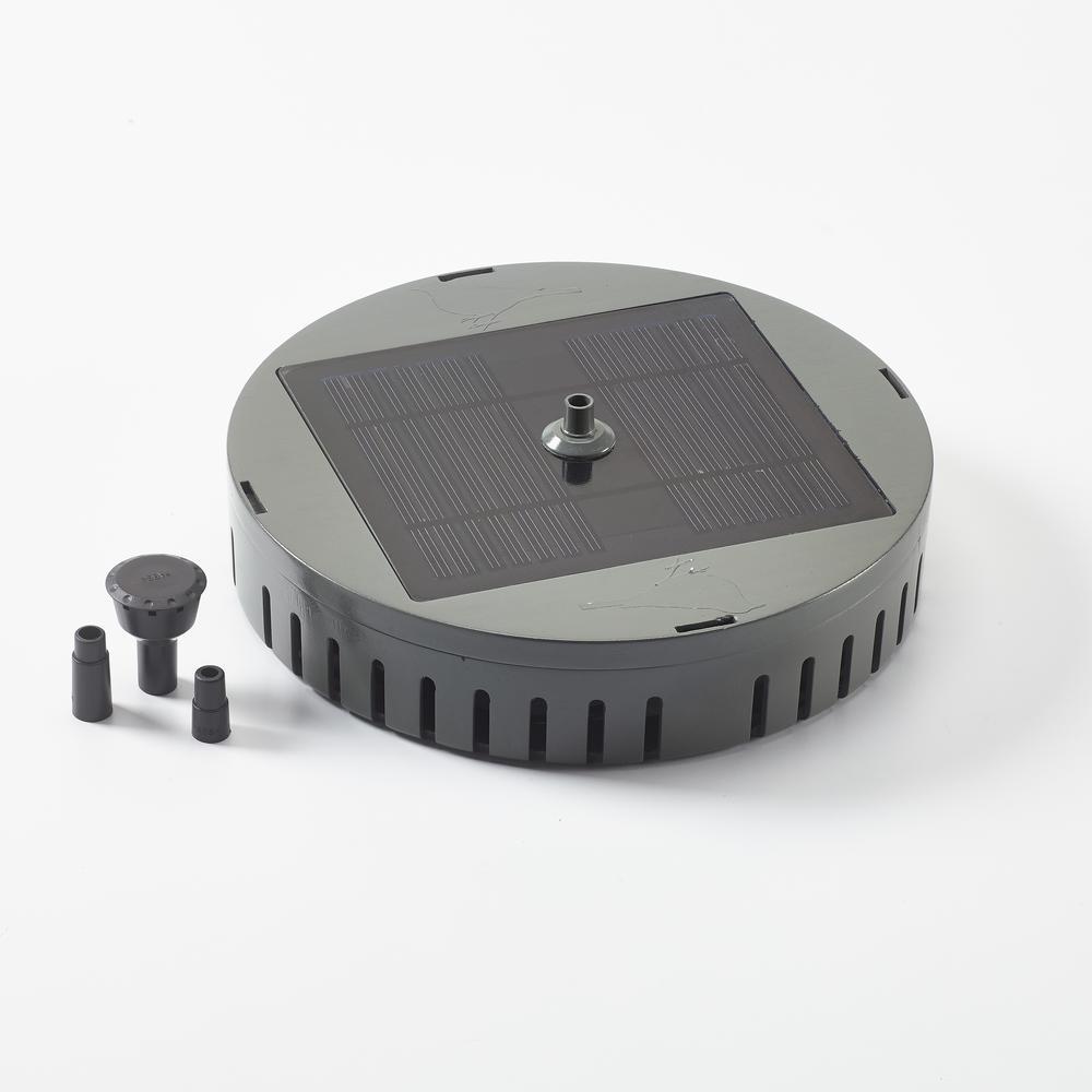 AquaNura Solar Birdbath Fountain Conversion Kit