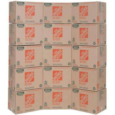 16 in. L  x 12 in. H x 12 in. D Small Moving Box (15-Pack)