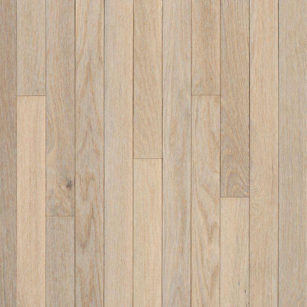 Bruce american originals sugar white oak 5 16 in t x 2 1 for Real oak hardwood flooring