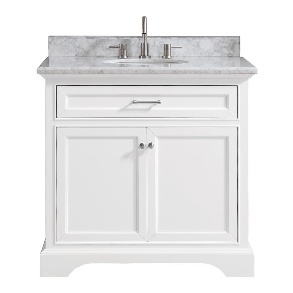 Home Decorators Collection Windlowe 37, Bathroom Vanities Home Depot