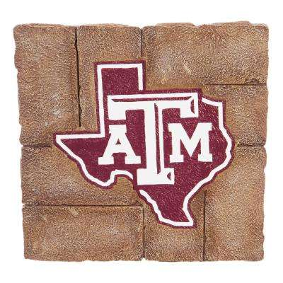Texas A&M 12 in. x 12 in. Decorative Garden Stepping Stone