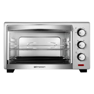 1380 W 6-Slice Stainless Steel Convection Toaster Oven with Rotisserie