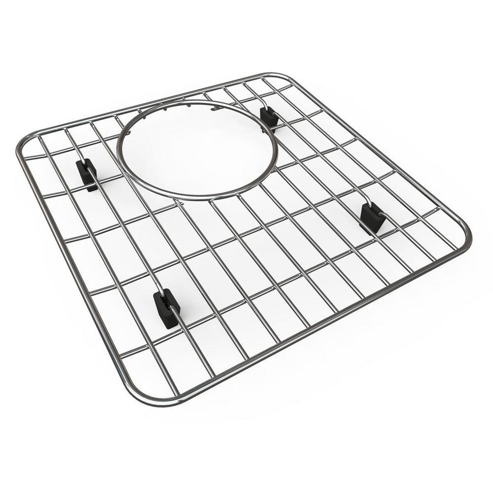 Quartz Kitchen Sink Bottom Grid - Fits Bowl Size 13-1/8 in. x 13-1/8 in.