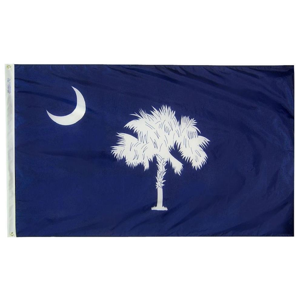 4 ft. x 6 ft. South Carolina State Flag