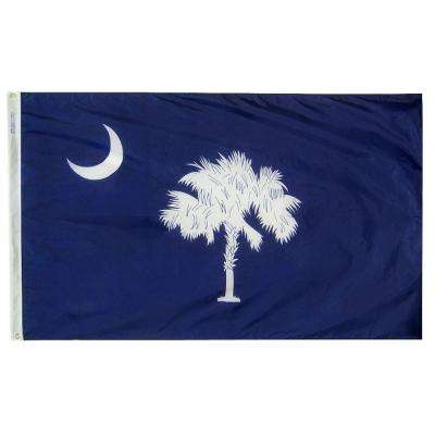 4 ft. x 6 ft. South Carolina State Flag