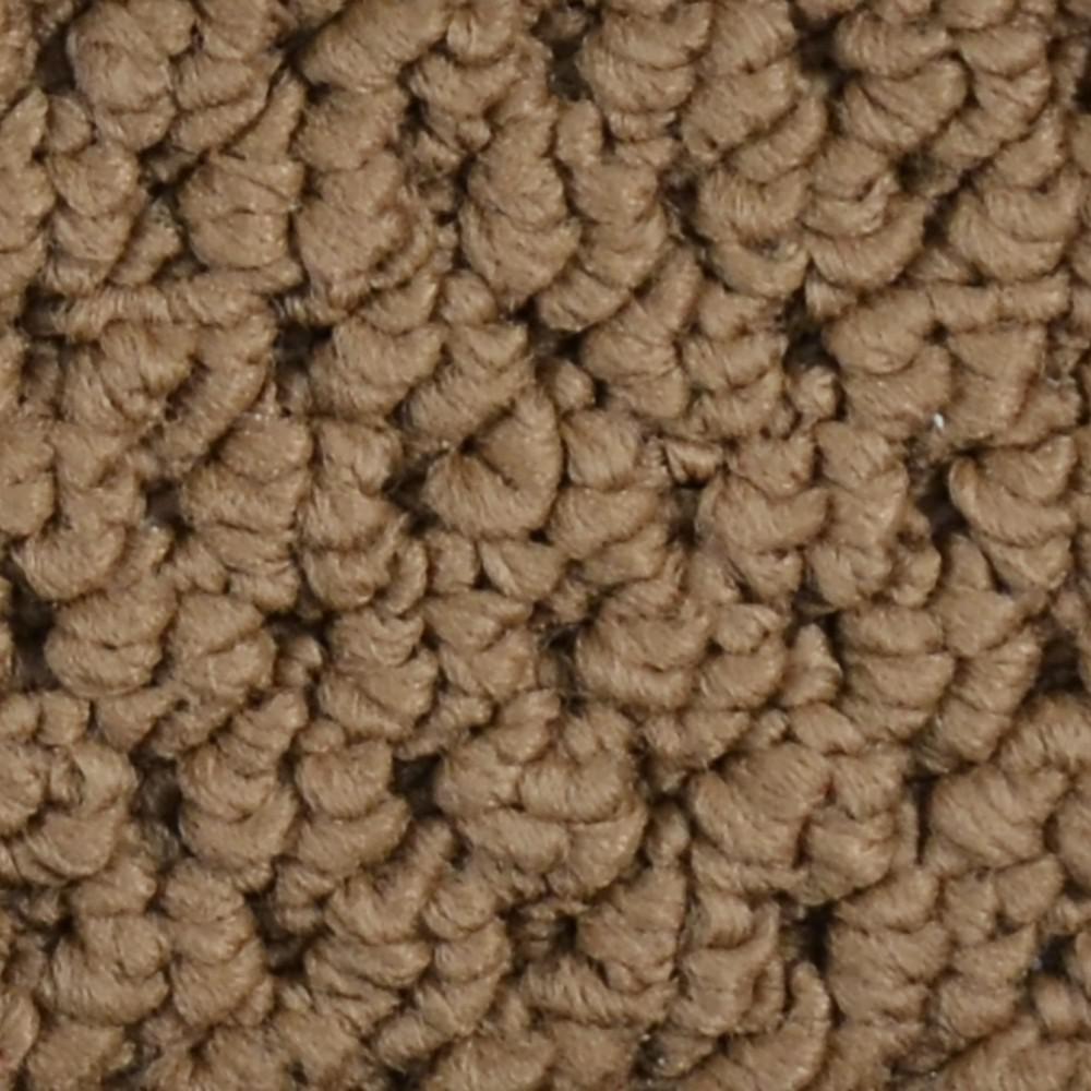 Carpet Sample - Bayfield - Color Bluewater Loop 8 in. x 8 in.