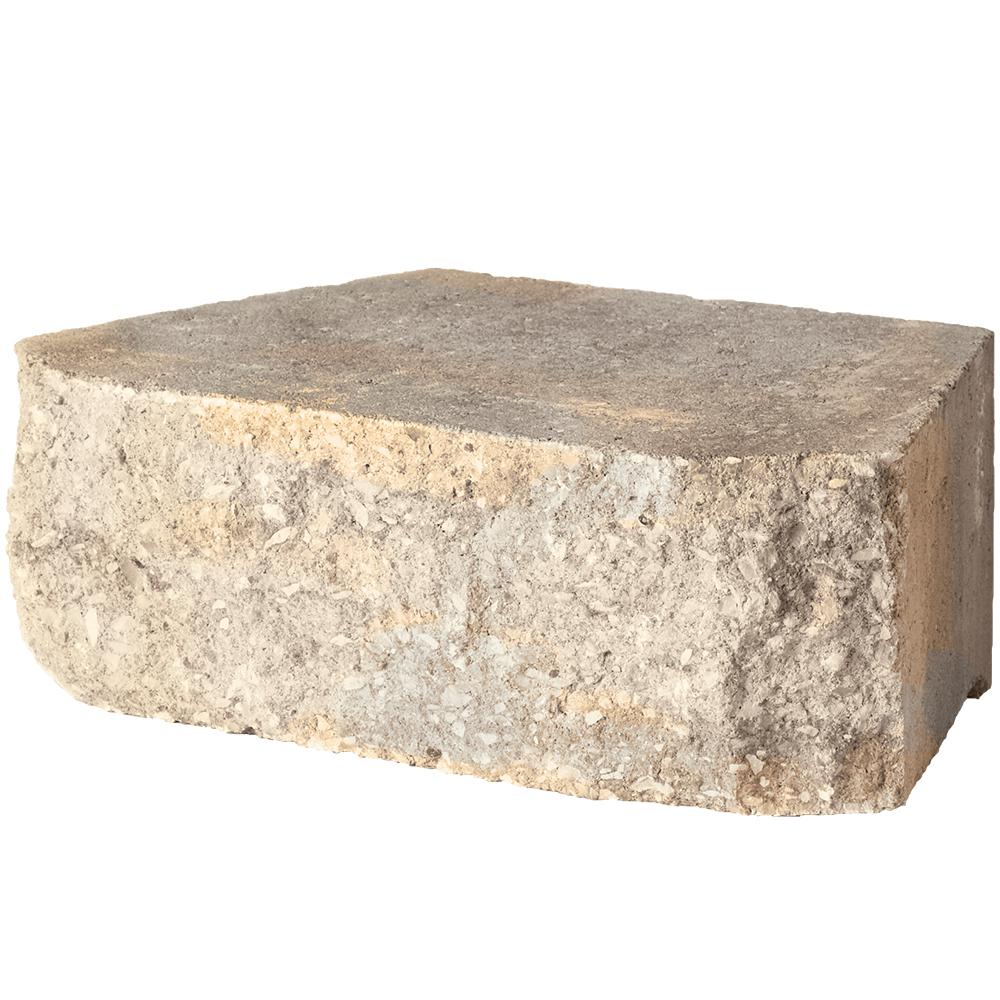 Pavestone 4 in. x 11.75 in. x 6.75 in. Carolina Blend Concrete Retaining Wall Block (144-Pieces/46.6 sq. ft./Pallet)