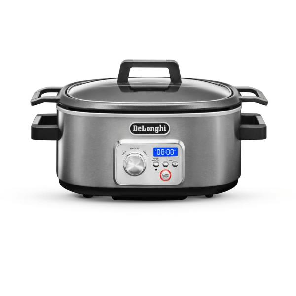 Livenza 6 Qt. Programmable Slow Cooker with Stovetop-Safe Pot