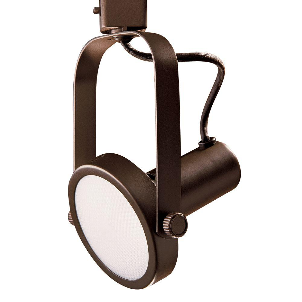 Par 30 Oil-Rubbed Bronze Gimbal Ring Track Lighting Fixture