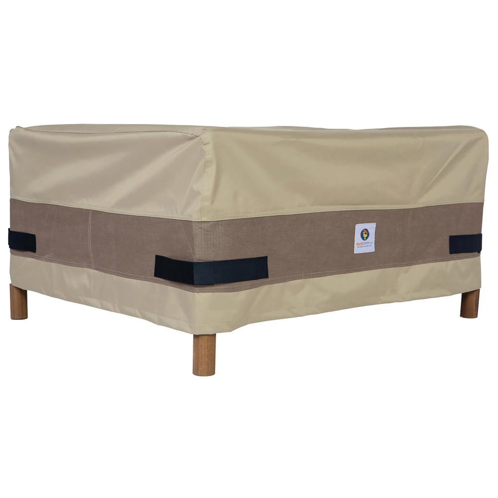 Duck Covers Elegant 40 In Patio Ottoman Or Side Table Cover