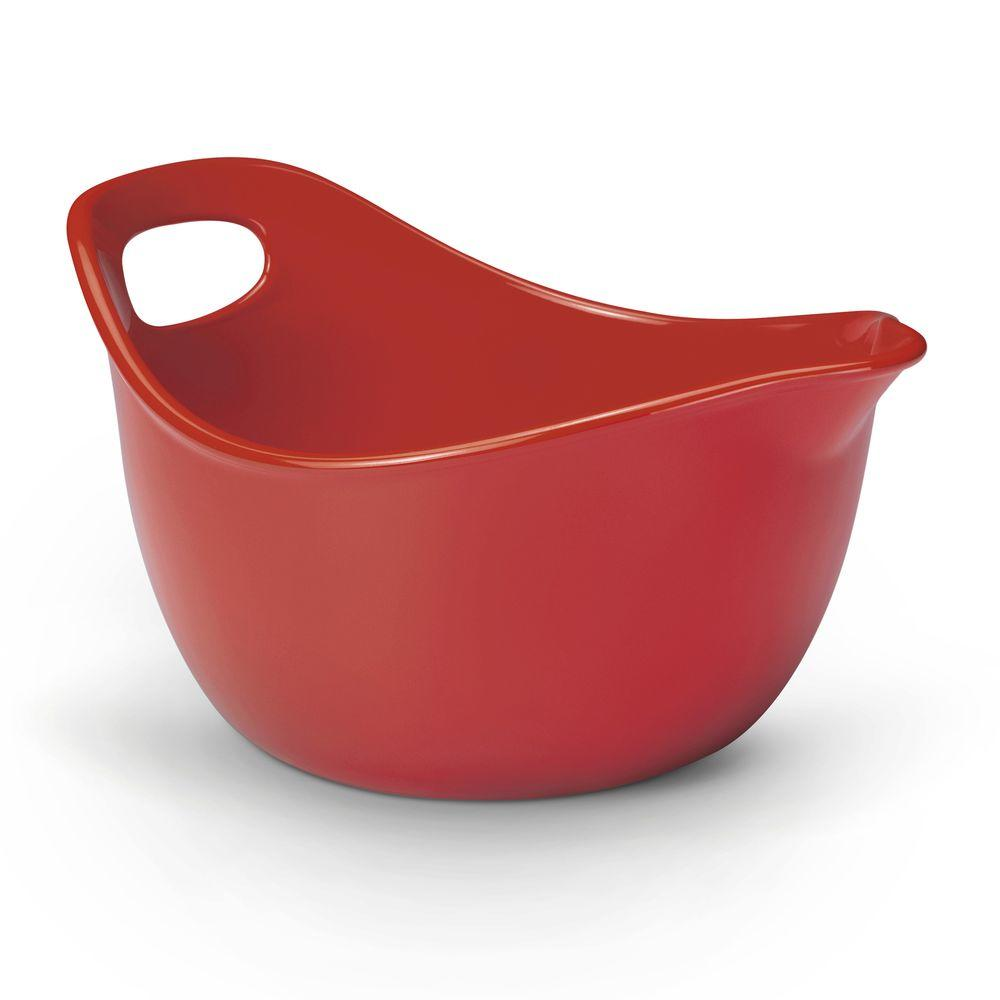 Rachael Ray 3 Qt. Mixing Bowl in Red