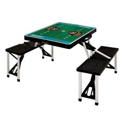 Jacksonville Jaguars Sport Plastic Outdoor Patio Picnic Table