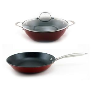 BergHOFF 3-Piece Light Cast Iron Cookware Set by
