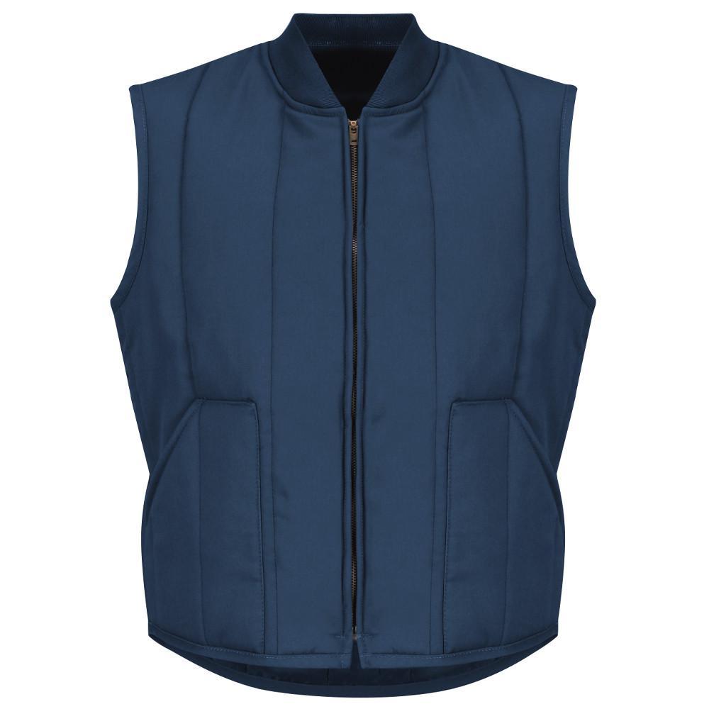 Men's Size 3XL Navy Quilted Vest