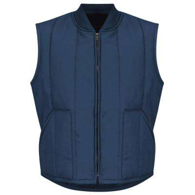 Men's Size L (Tall) Navy Quilted Vest