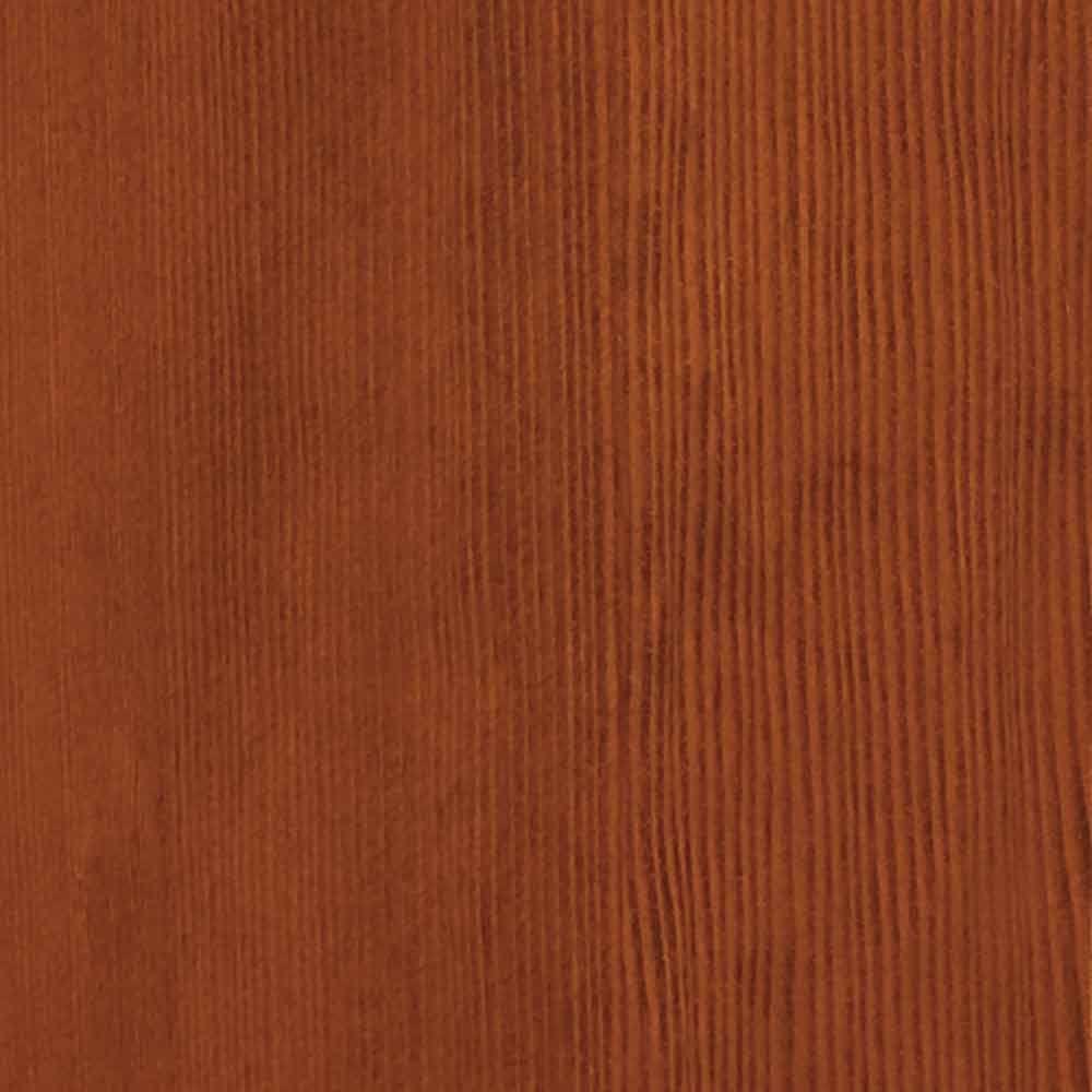4 in. x 3 in. Wood Garage Door Sample in Hemlock with Teak 085 Stain