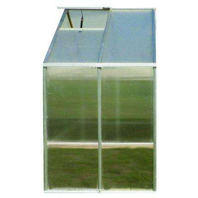 8 ft. x 4 ft. Aluminum Premium Greenhouse Extension