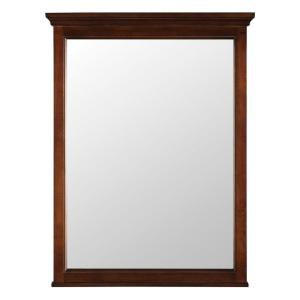 Foremost Ashburn 24 inch x 31 inch Wall Mirror in Mahogany by Foremost