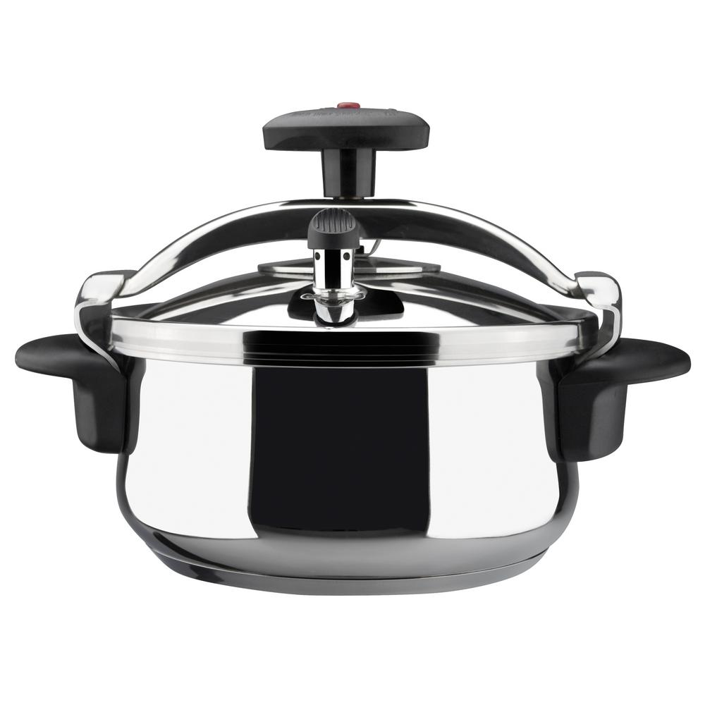 Magefesa Star 4 Qt. Stainless Steel Stovetop Pressure Coo...