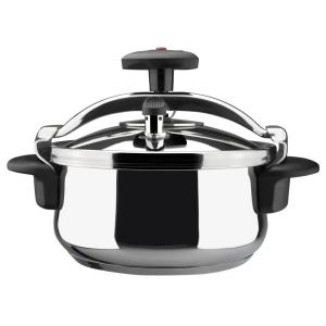Magefesa Star 4 Qt. Stainless Steel Stovetop Pressure Cookers by Magefesa