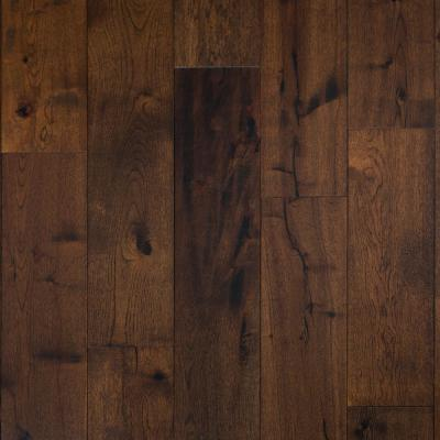 Extra Wide and Long 7.5 in. W Russet Valley Dark Brown Engineered Hickory Hardwood Flooring (30.90 sq. ft./case)