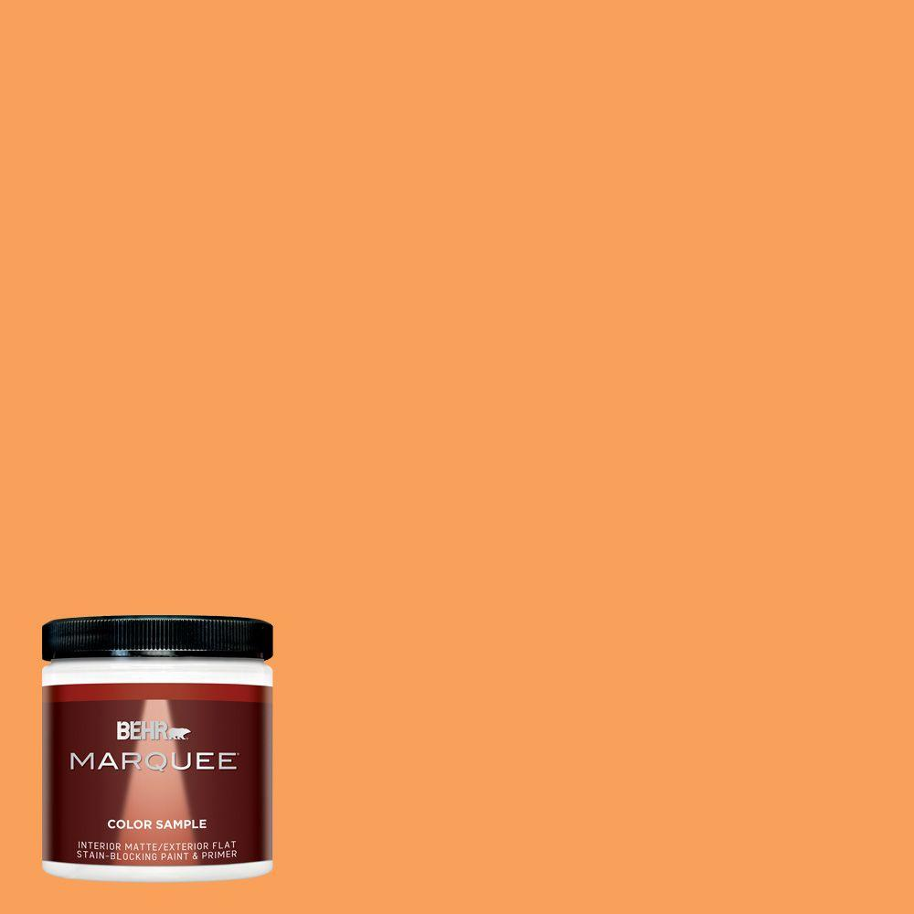 Behr Marquee 8 Oz T15 10 Clarified Orange Interior