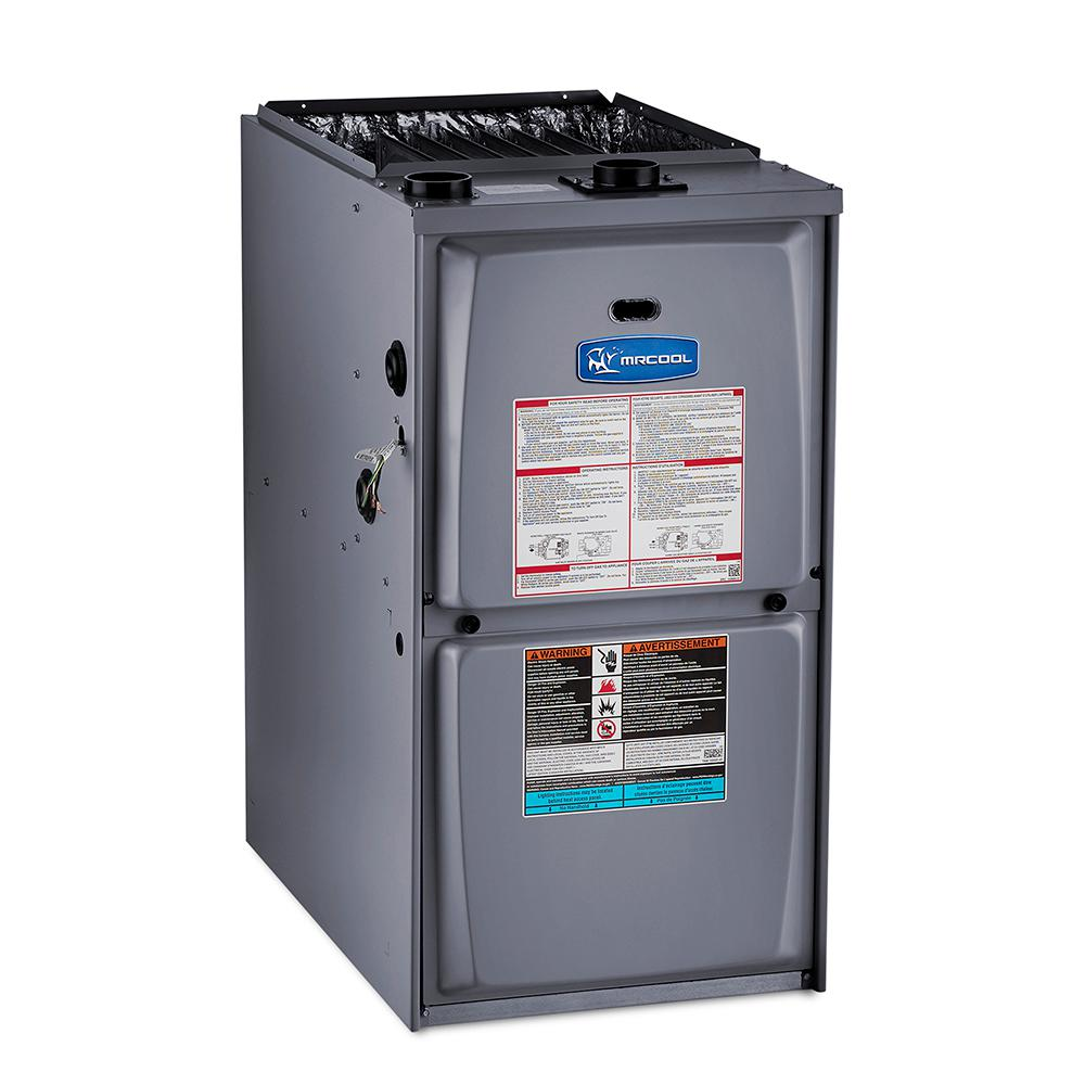MRCOOL 90,000 BTU 95% AFUE Upflow/Horizontal Multi-Speed Low NOX Gas Furnace with 21 in. Cabinet