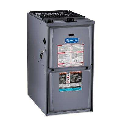 Signature 110,000 BTU 95% AFUE Multi-Position Multi-Speed Low NOX Natural Gas Furnace with 21 in. Cabinet