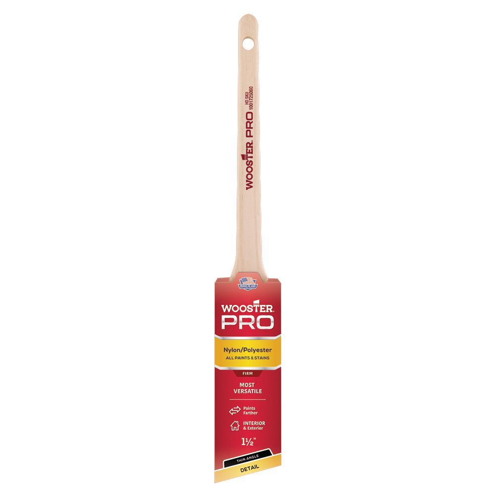 1-1/2 in. Pro Nylon/Polyester Thin Angle Sash Brush