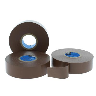 Wire Armour 3/4 in. x 66 ft. Premium Vinyl Tape, Brown (10-Pack)