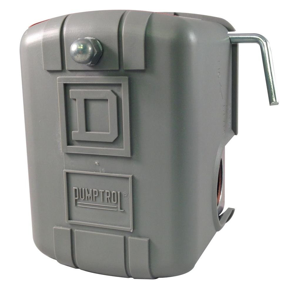Square D 40/60 psi with Low Pressure Cut-Off Water Pressure Switch