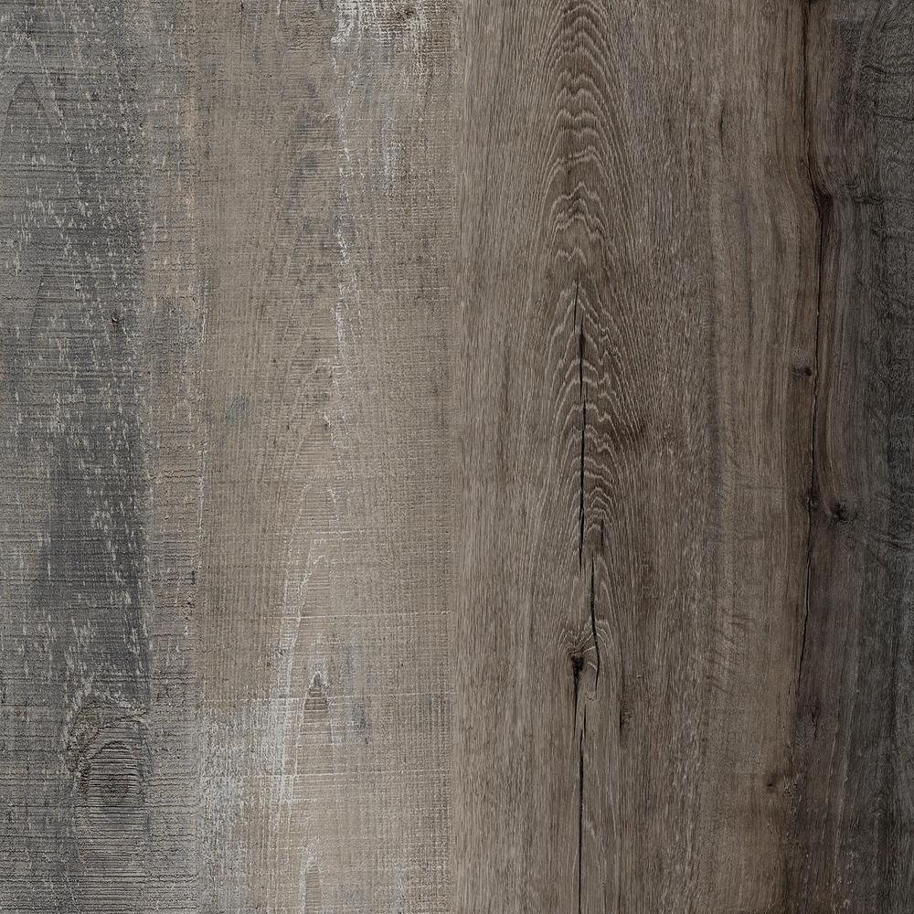 LifeProof Take Home Sample - Distressed Wood Luxury Vinyl Plank Flooring - 4 in. x 4 in.