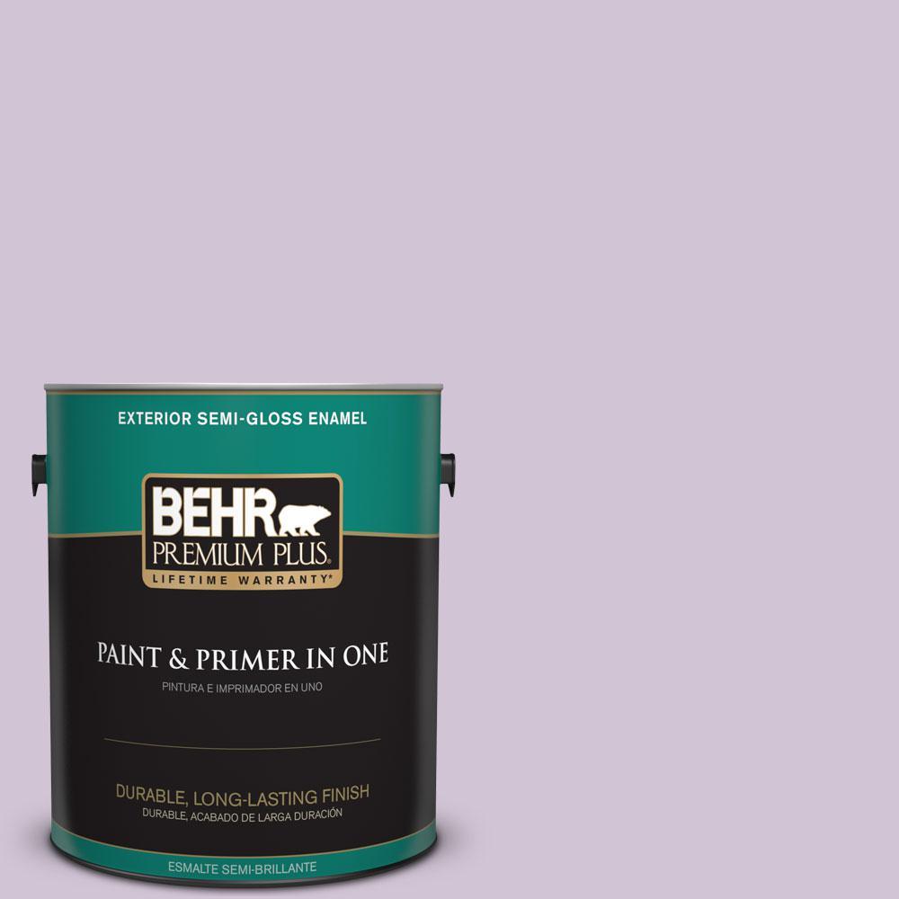 1-gal. #M100-2 Seedless Grape Semi-Gloss Enamel Exterior Paint