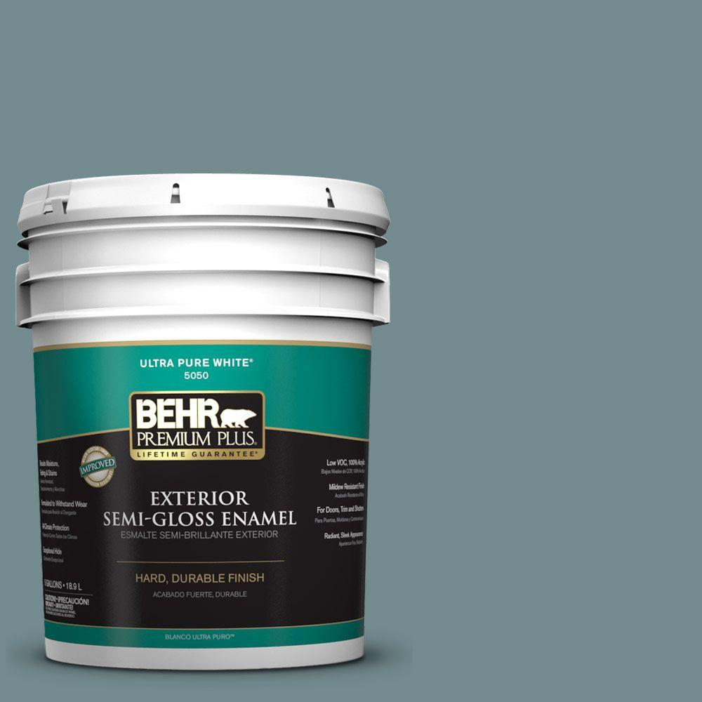 5-gal. #PPF-46 Leisure Time Semi-Gloss Enamel Exterior Paint