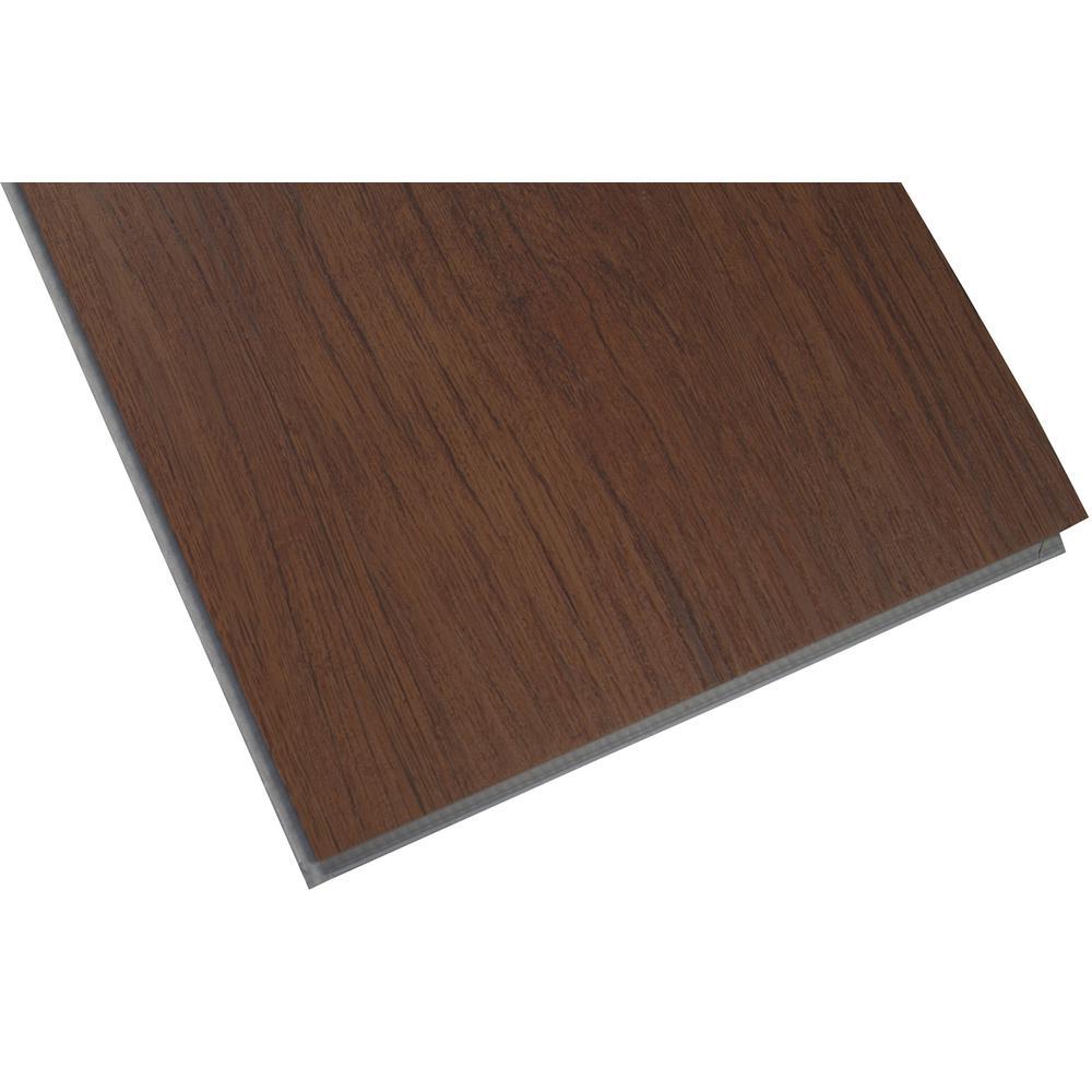 Woodland Antique Mahogany 7 in. x 48 in. Rigid Core Luxury Vinyl Plank Flooring (23.8 sq. ft. / case)