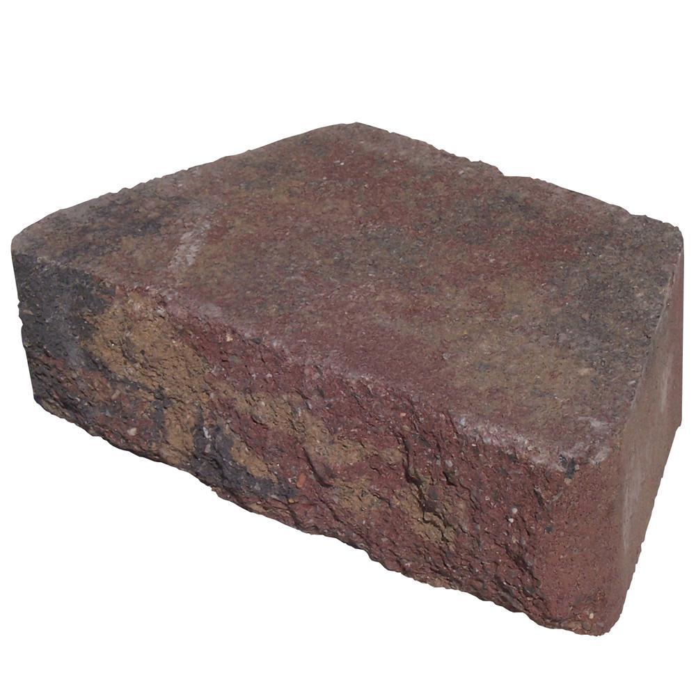 Pavestone 5.87 in. L x 10 in. W x 3 in. H Sierra Blend Concrete Retaining Wall Block (280-Piece/58.4 sq. ft./Pallet)