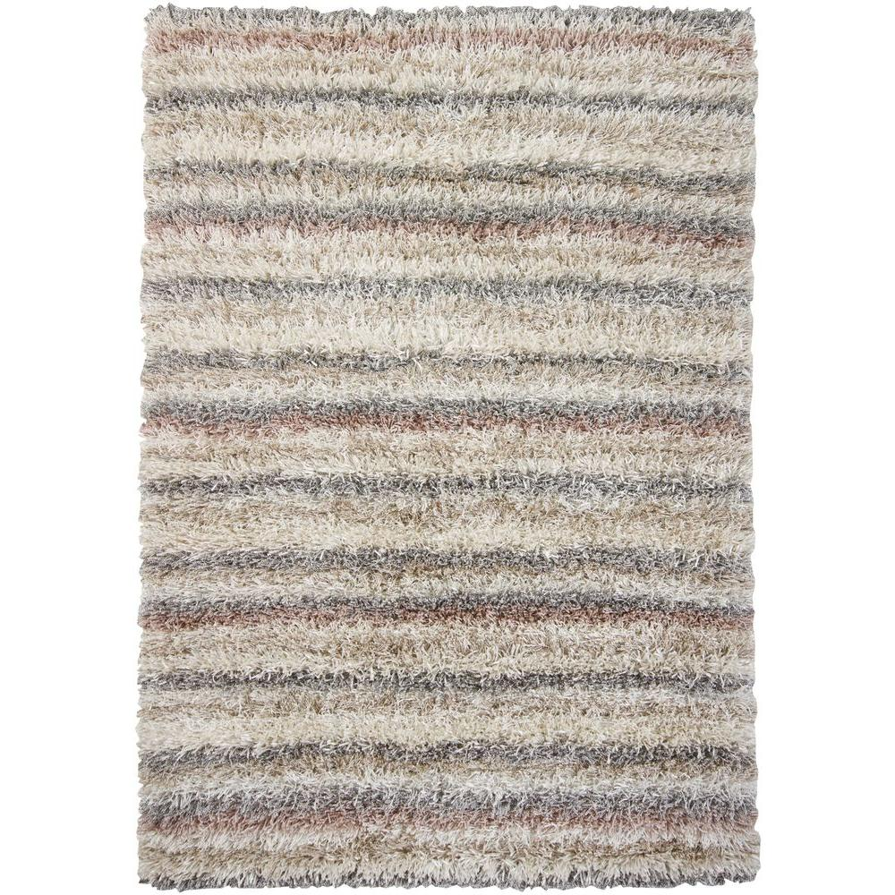 Chandra kubu ivory beige tan grey 9 ft x 13 ft indoor for Grey and tan rug