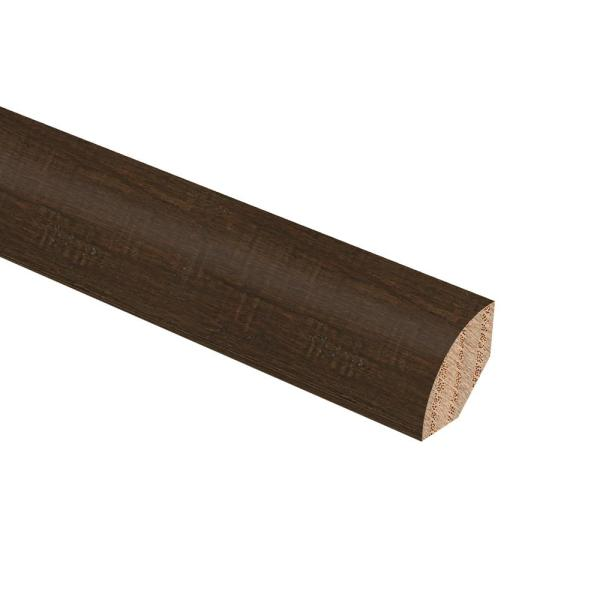 Strand Woven Bamboo Ceruse 3/4 in. Thick x 3/4 in. Wide x 94 in. Length Hardwood Quarter Round Molding