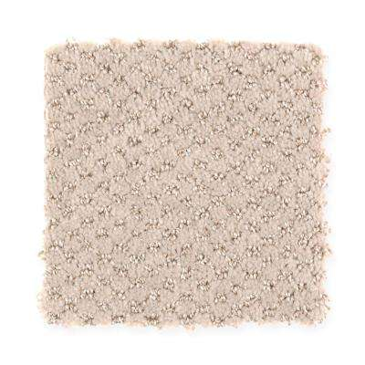 Carpet Sample - Energetic - Color Sweet Sugar Pattern 8 in. x 8 in.