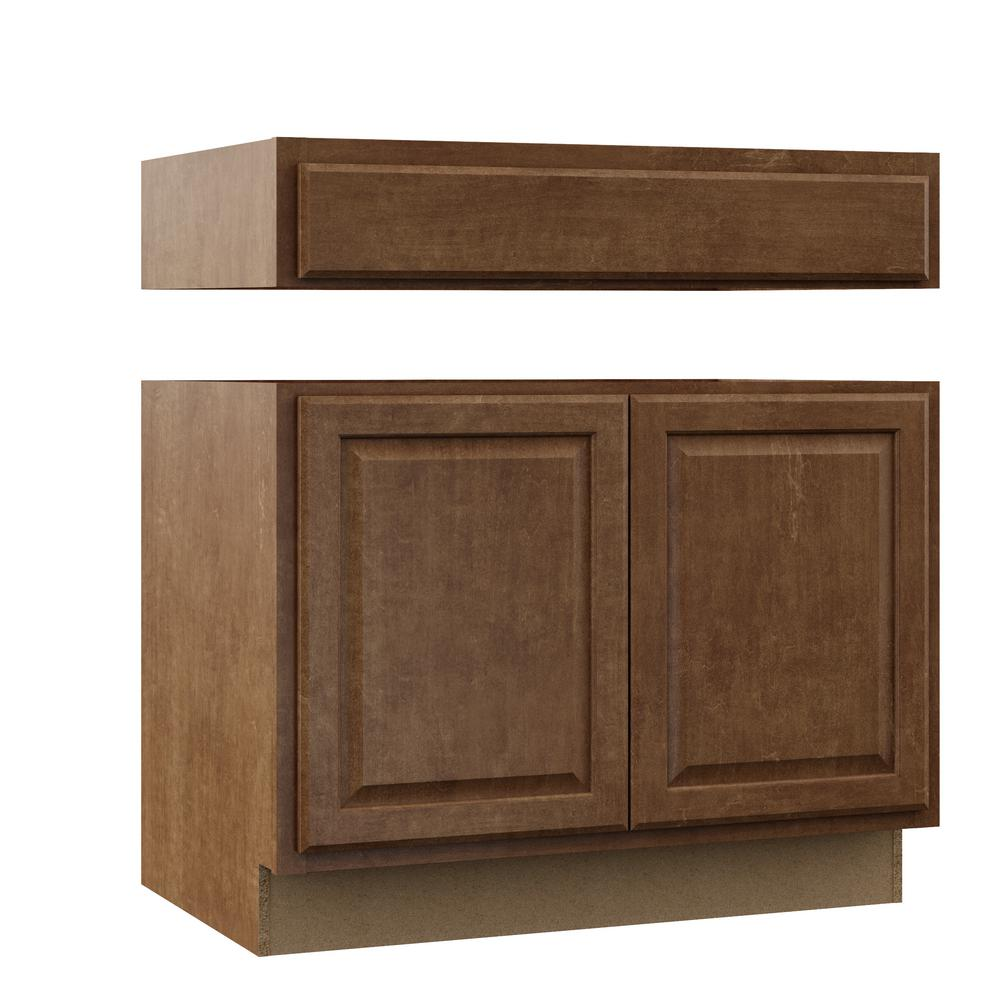 Hampton Bay Kitchen Cabinets Cognac: Hampton Bay Hampton Assembled 36x34.5x24 In. Accessible