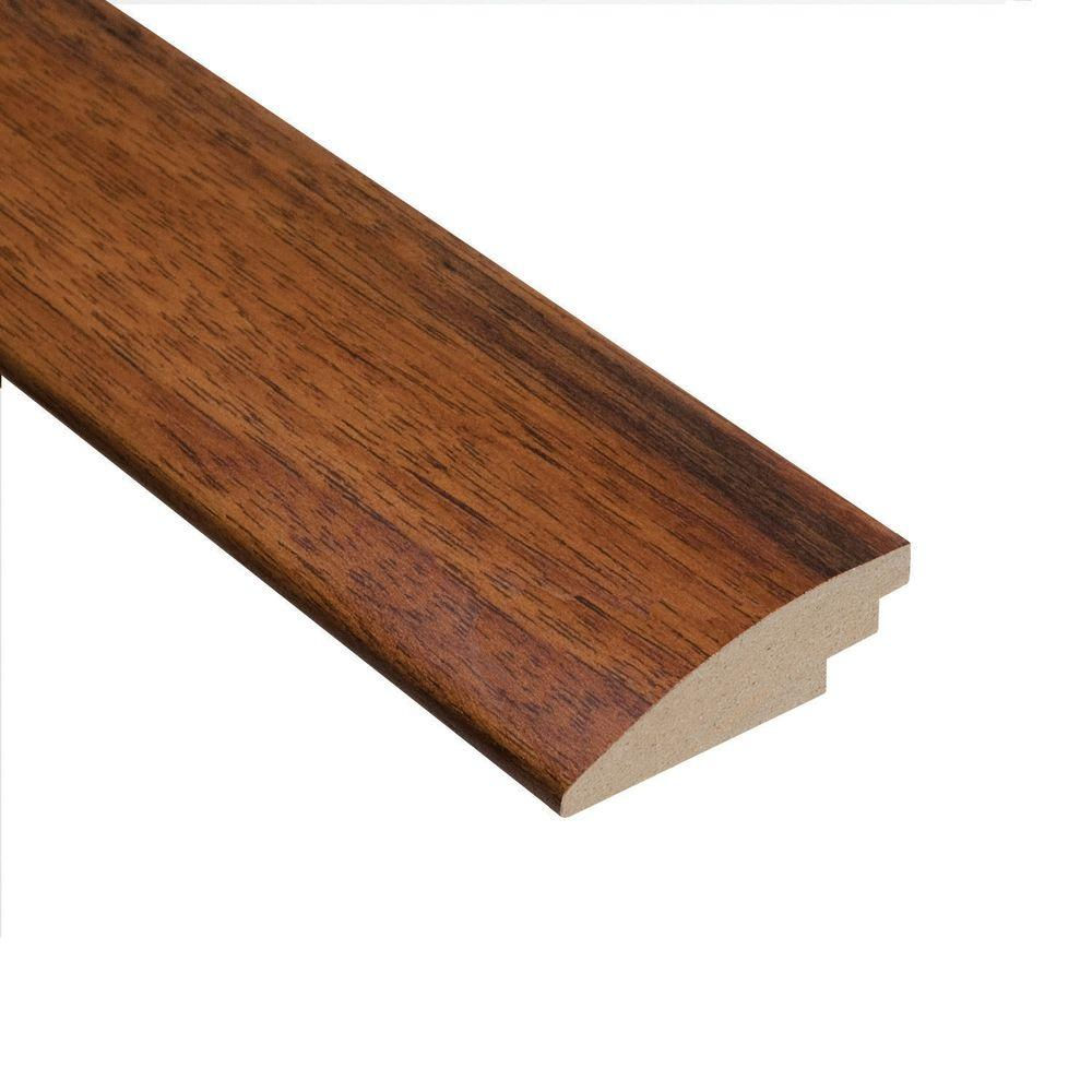 Manchurian Walnut 3/4 in. Thick x 2 in. Wide x 78 in. Length Hardwood Hard Surface Reducer Molding