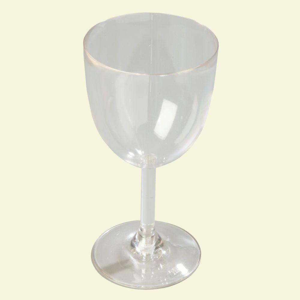Carlisle 13.5 oz. Polycarbonate Goblet in Clear (Case of 24)