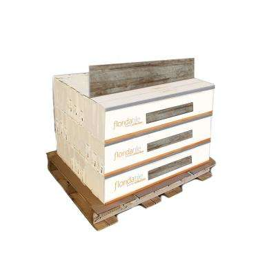 Woodshop Umber 8 in. x 36 in. Porcelain Floor and Wall Tile (378 sq. ft. / pallet)