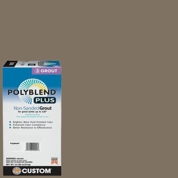 Polyblend Plus #544 Rolling Fog 10 lb. Non-Sanded Grout