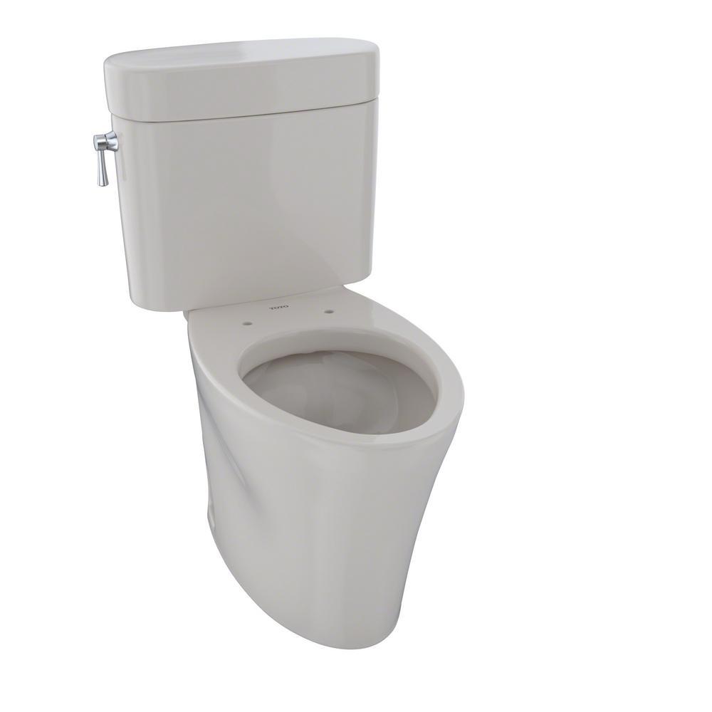 TOTO Nexus 2-Piece 1.6 GPF Single Flush Elongated Toilet in Sedona Beige